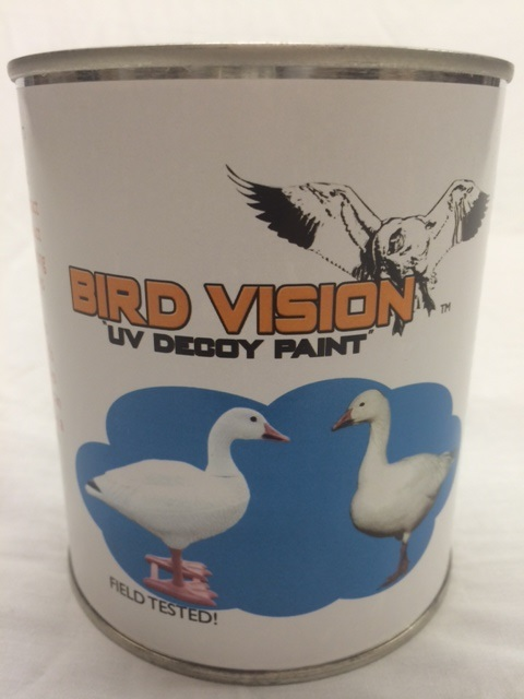 Bird Vision White UV Decoy Paint 1 quart