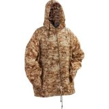 XL to 2 XL Camo Rain Jacket With Hood